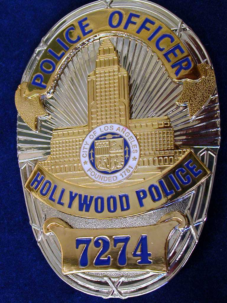 LAPD - Los Angeles Police badges