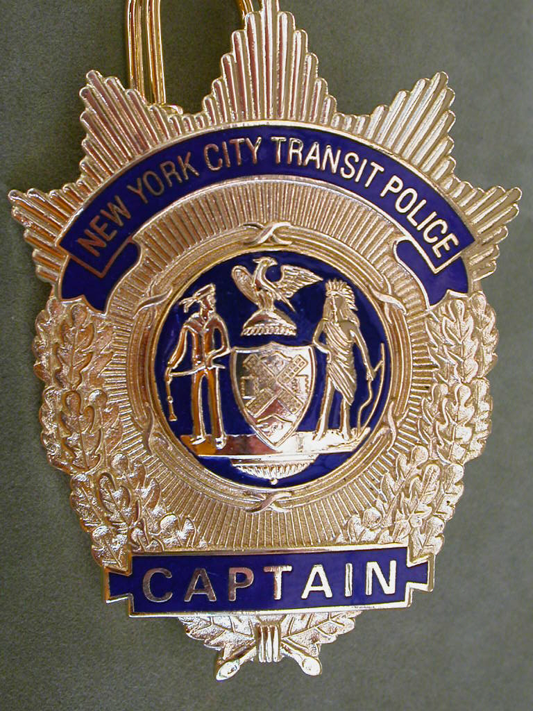 NYPD badges